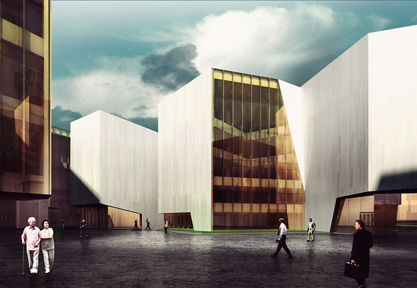 "RTA-Office's Mountainous ""Cultural Container"" Wins First Prize, Courtesy of RTA-Office"