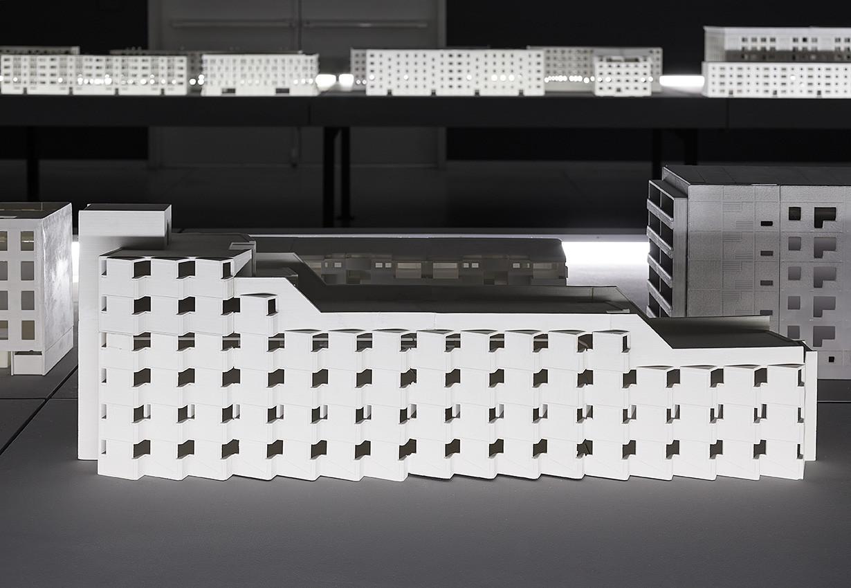 Museo de Arte de Tel Aviv examina la circulación internacional de paneles de concreto prefabricado, © Elad Sarig