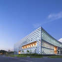 Library of South University of Science and Technology of China. Image © Alex Chan