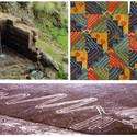 Referencias de arquitectura, paisaje y arte prehispánico. Image Cortesia de Awaq Estudio + Estudio Shicras