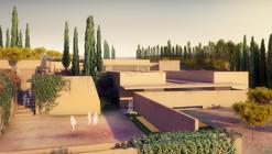 España: construcción del nuevo atrio de la Alhambra diseñado por Álvaro Siza levanta polémica