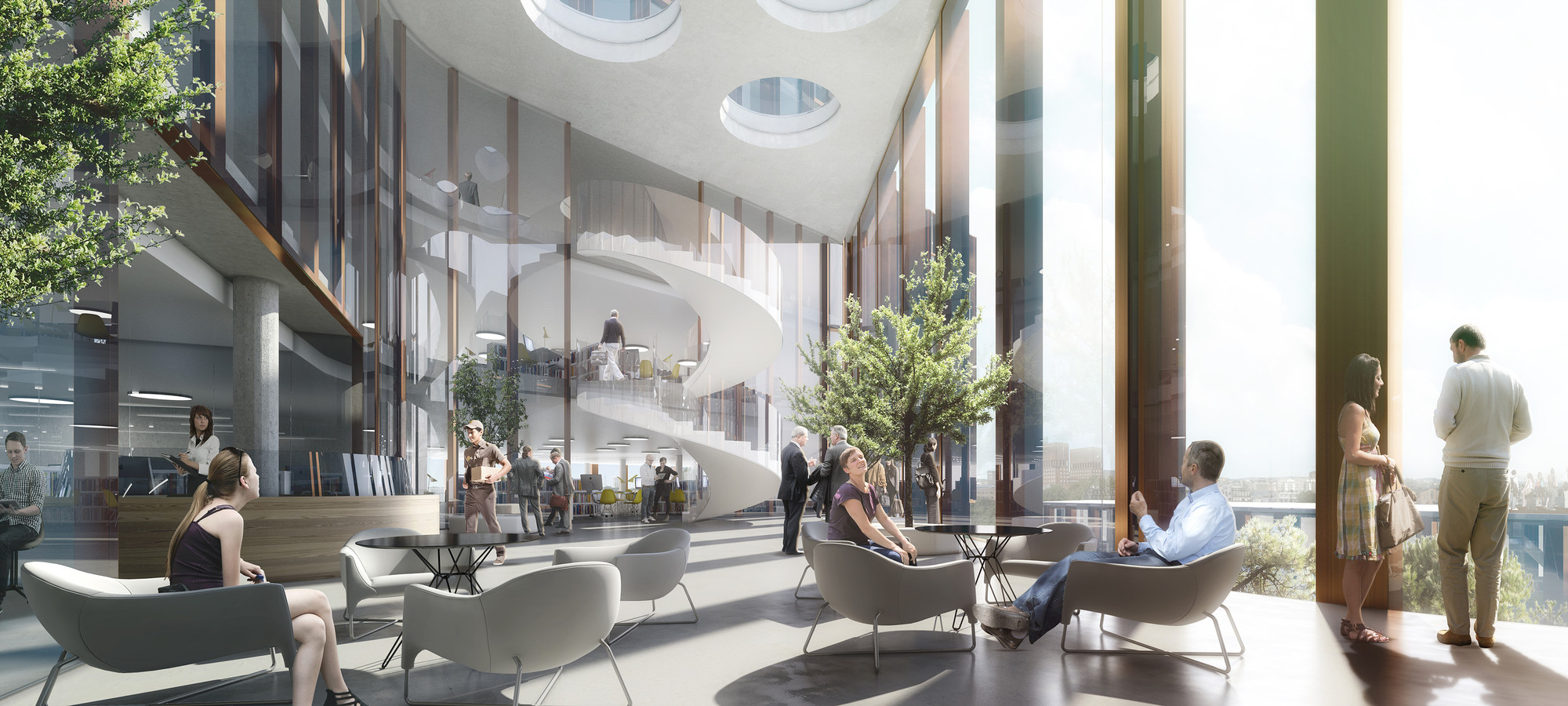 Schmidt Hammer Lassen Wins Competition To Design Mixed Use