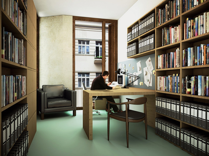 Office. Image Courtesy of O'Donnell + Tuomey / Central European University