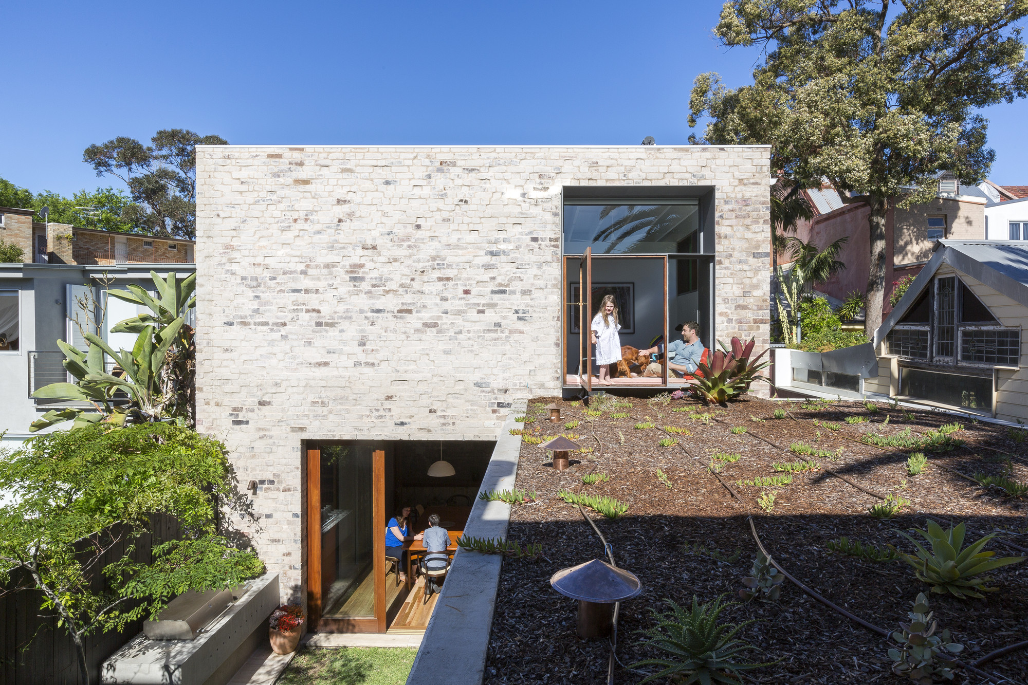 Courtyard House / ​Aileen Sage Architects, © Tom Ferguson