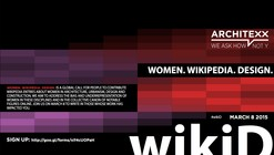 #wikiD, una iniciativa para incorporar biografías de mujeres arquitectas a Wikipedia