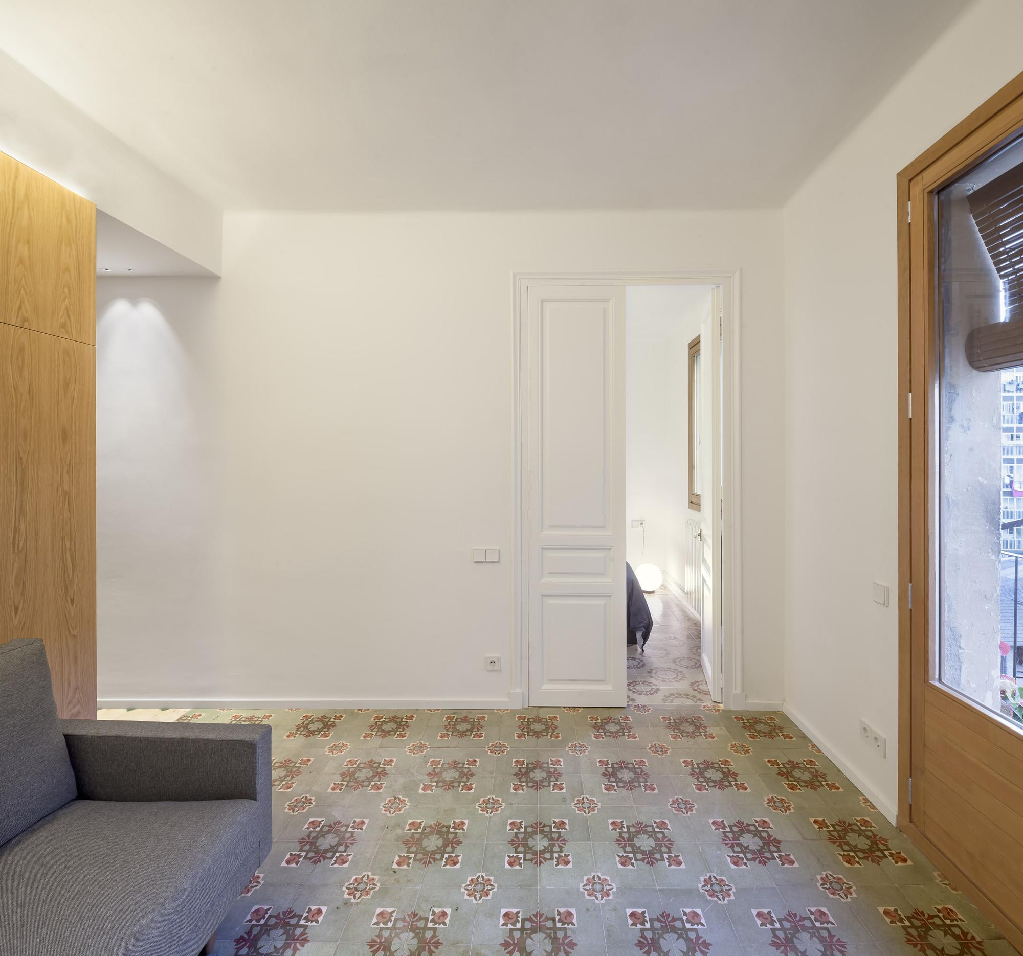 Reformas Baños Nou Barris:Reforma Apartamento en Barcelona / Alventosa Morell Arquitectes