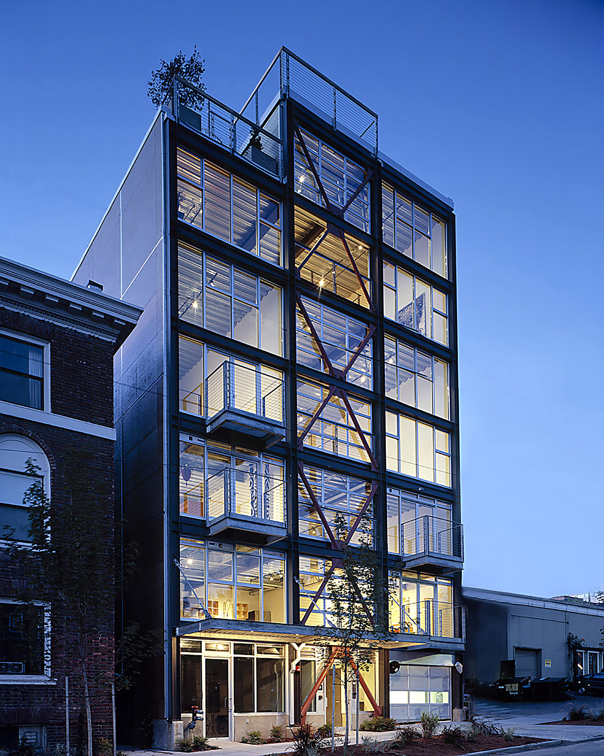 Gallery of capitol hill loft renovation shed for Architecture 54