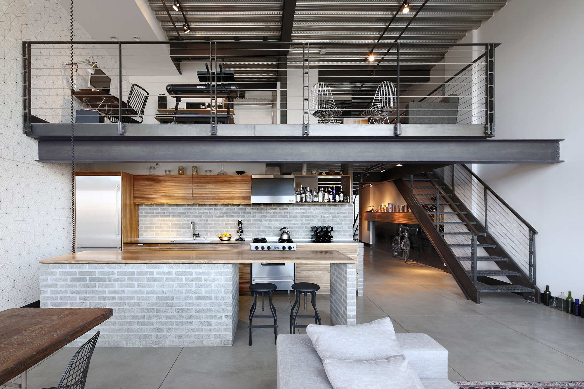 Capitol hill loft renovation shed architecture design for Architecture and design