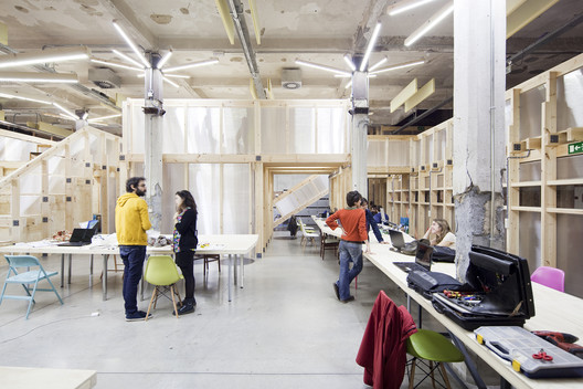 Factor 237 A Cultural In Matadero Madrid Office For