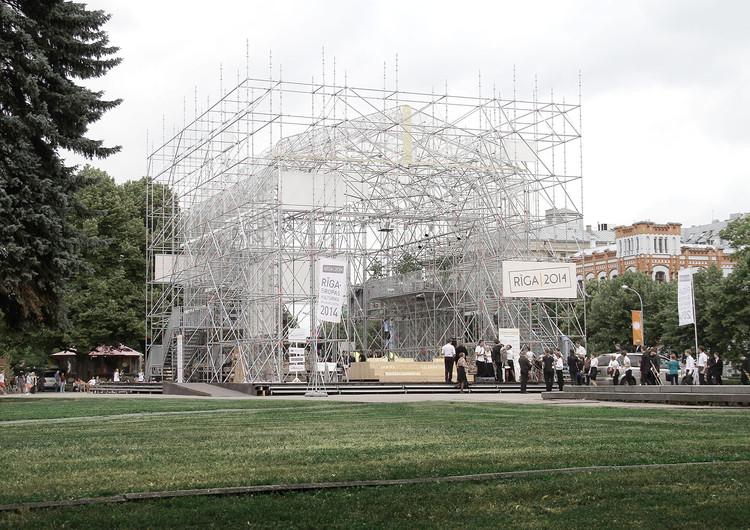 Riga 2014 Pavilion / Mailitis A.I.I.M. , Cortesía de Austris Mailitis