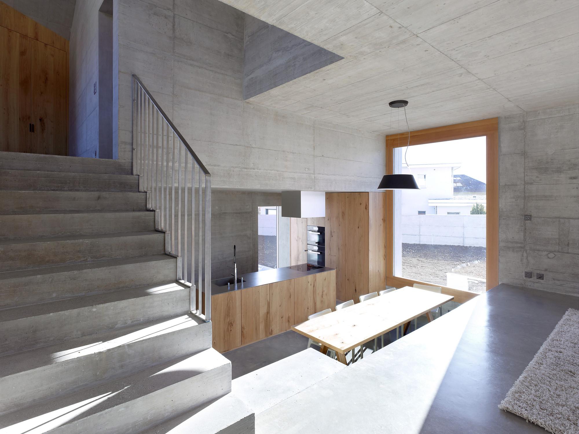 Maison Fabrizzi / Savioz Fabrizzi Architectes, © Thomas Jantscher