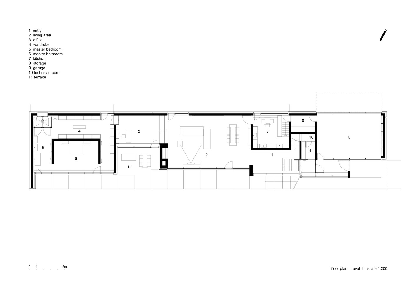 charming slope home plans #9: House on a slope plans