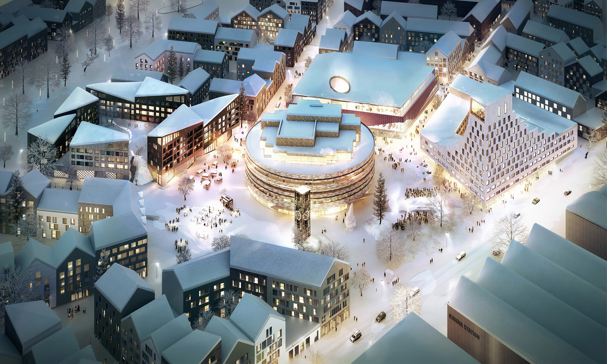"Kjellander + Sjöberg's Swedish Urban Block to Increase ""Civic Dialogue"", Courtesy of Kjellander + Sjöberg"