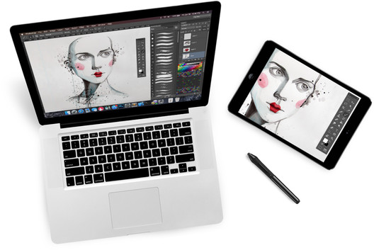 Astropad: use your iPad as a drawing tablet for your Mac. Image Courtesy of Astropad
