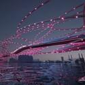 """""""Razorwire Party Bridge"""". Image Courtesy of Nine Elms Vauxhall Partnership"""