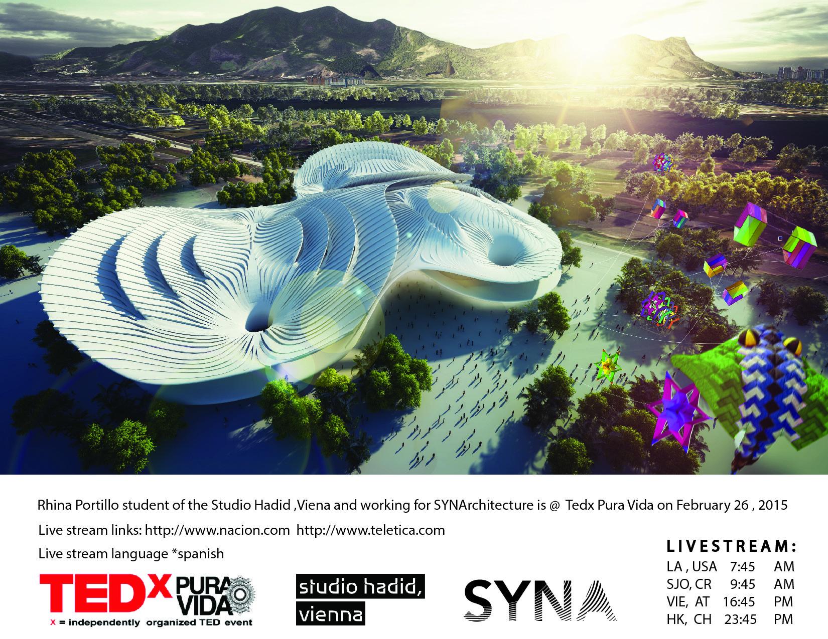 Conferencia online Tedx Pura Vida: Rhina Portillo