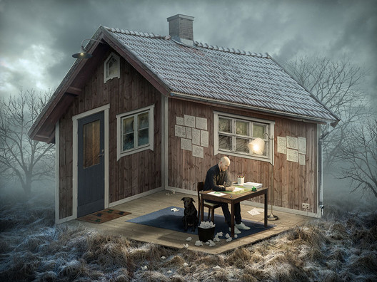 """""""The Architect"""". Image Courtesy of Erik Johansson"""