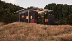 Longbush Ecosanctuary Welcome Shelter / Sarosh Mulla Design