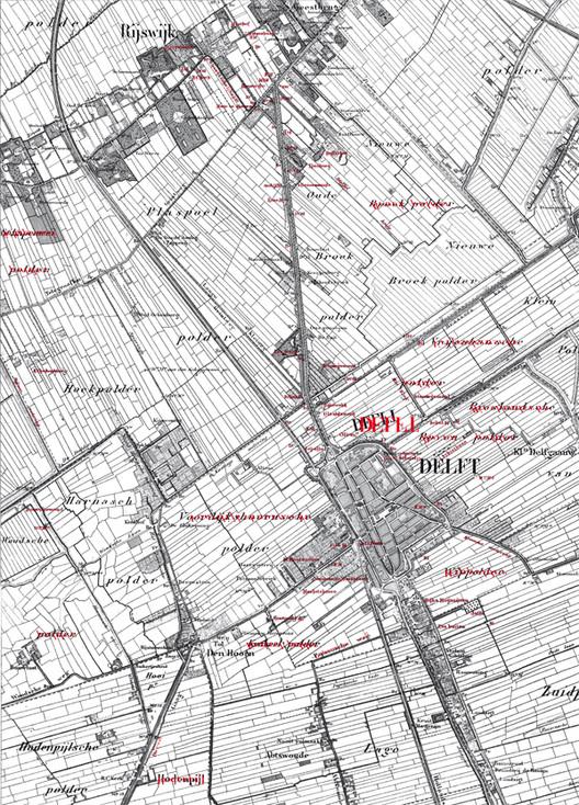 Reposicionando textos en el mapa. Imagen © Geerdes Ontwerpen