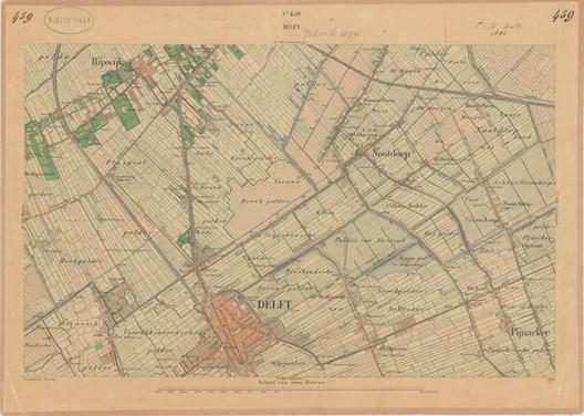 Delft, Bonneblad  459. Imagen cortesía de Geerdes Ontwerpen / Mecanoo