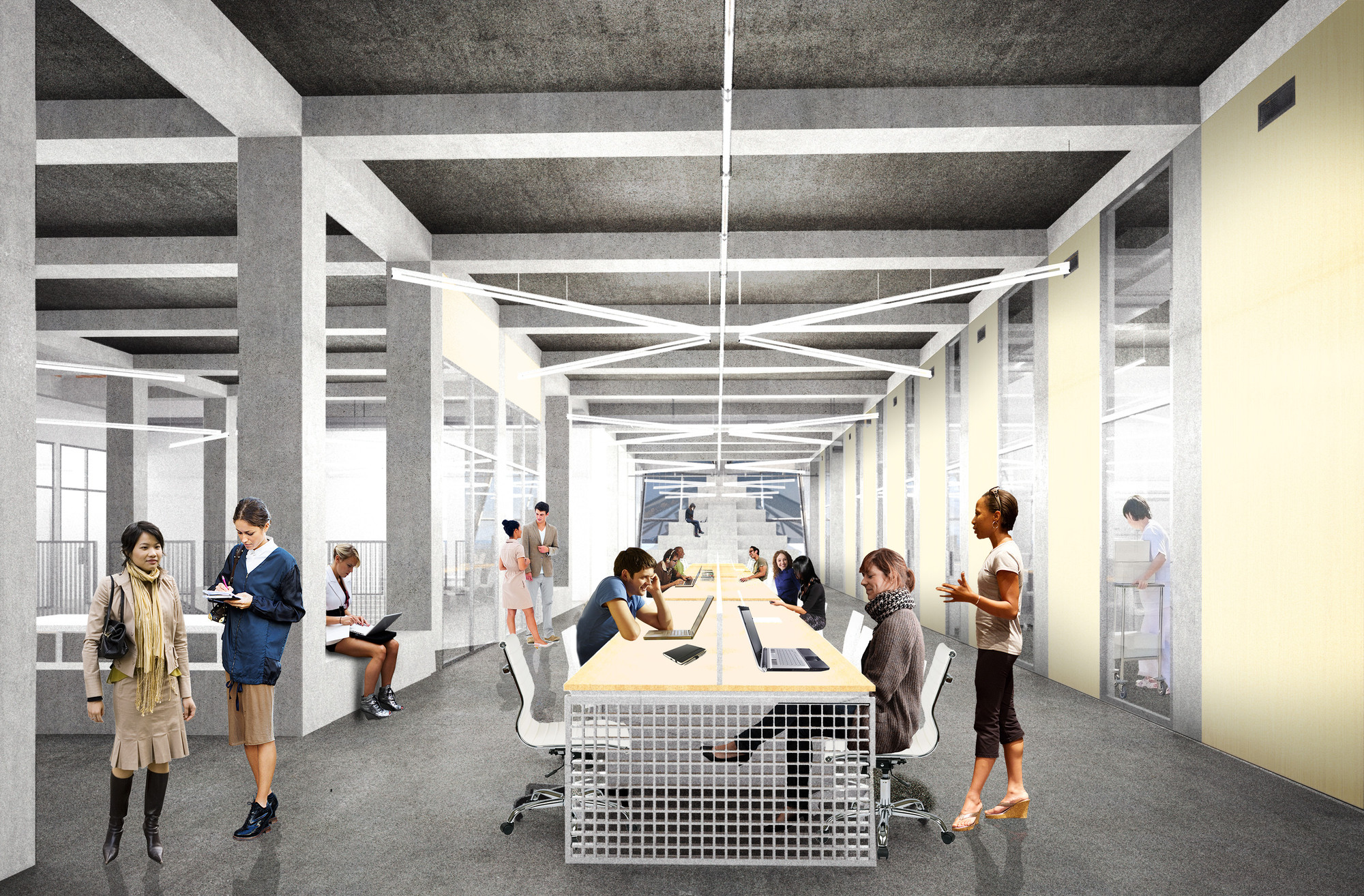 Hwkn Unveils Design For Pennovation Center In Pennsylvania Archdaily