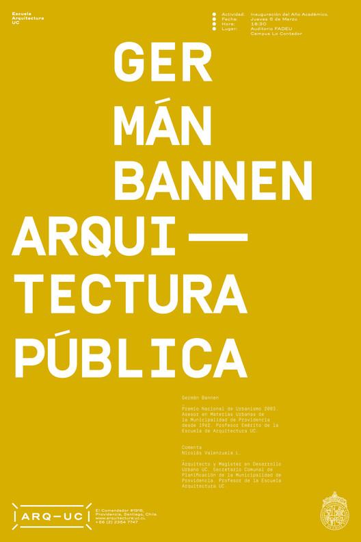 Conferencia PUC: Germán Bannen / Santiago