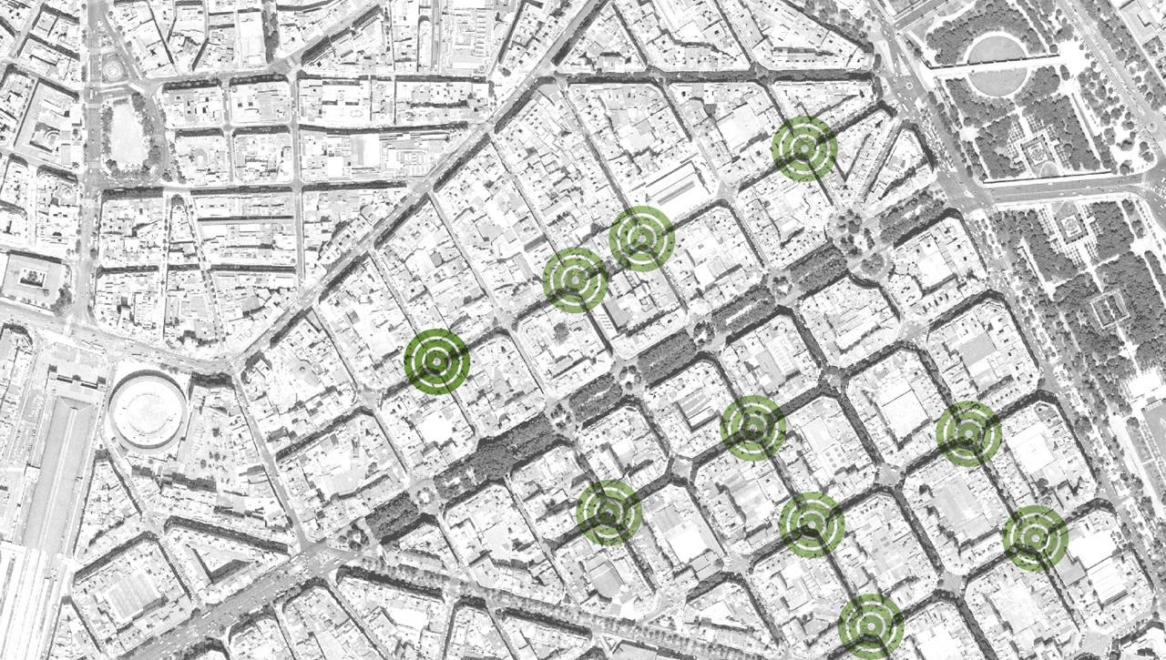 Una oportunidad para recuperar el espacio peatonal: contrapropuesta para renovación del centro de Valencia, Proyecto Extrapolable. Image © EFG arquitectura