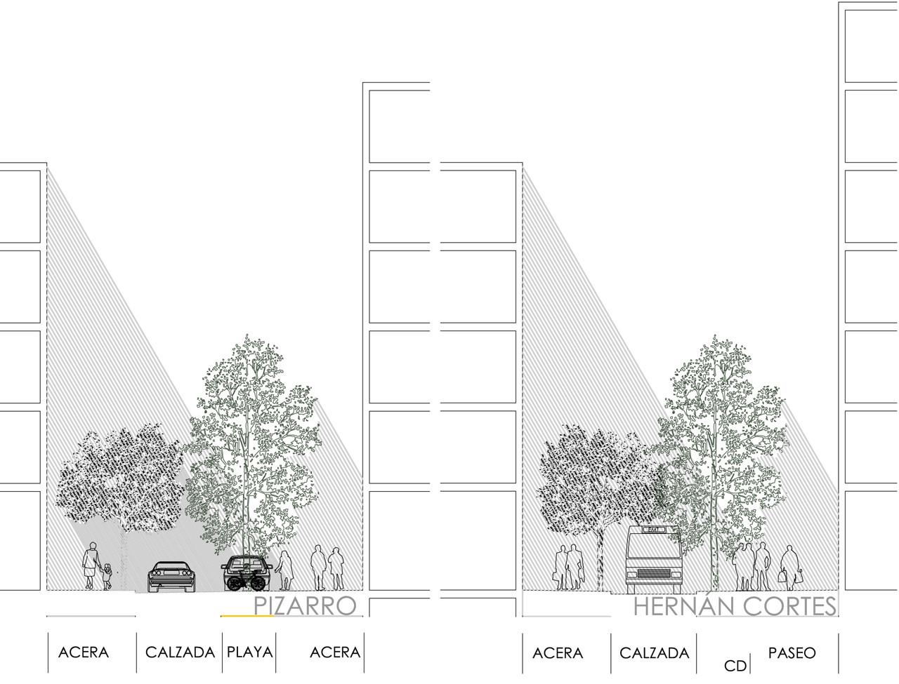 Corte. Image © EFG arquitectura