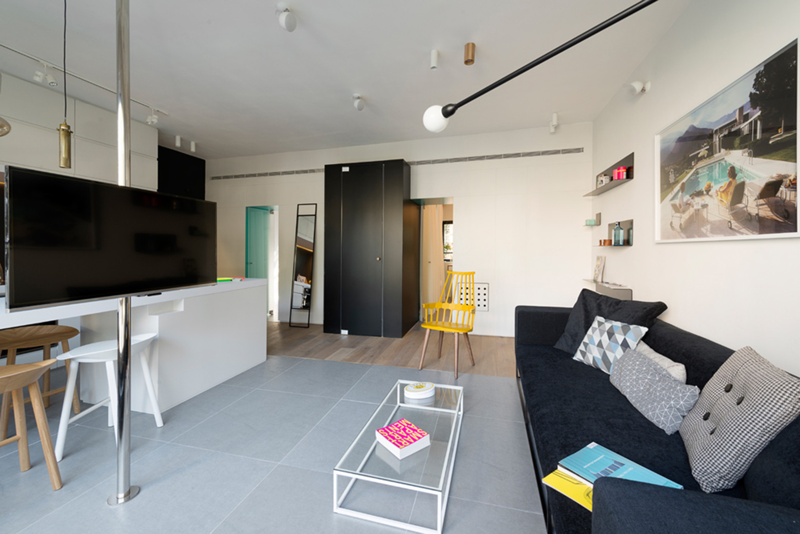 Gallery of apartment in tel aviv amir navon studio 6b for Square room design