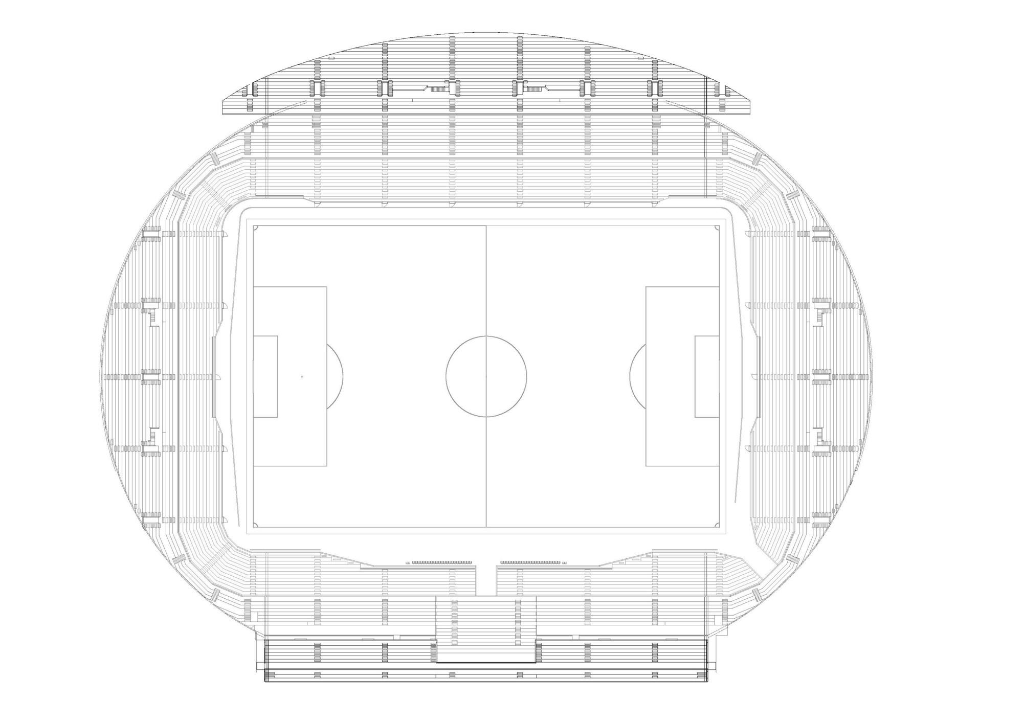 Gallery of Hazza Bin Zayed Stadium / Pattern Design - 12