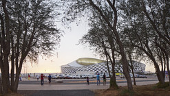 Hazza Bin Zayed Stadium / Pattern Design