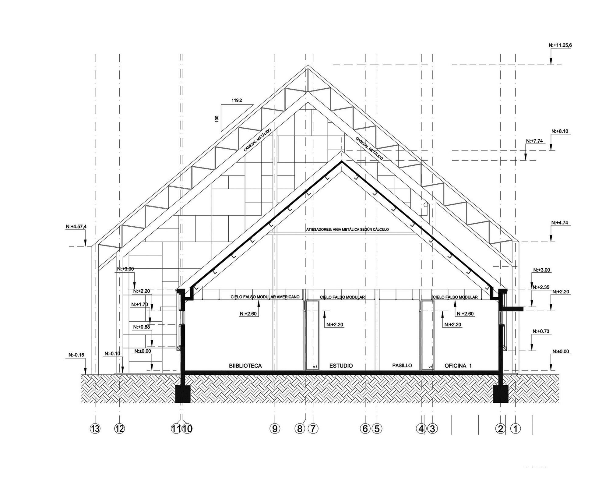 Cortesia de Claro + Westendarp Arquitectos