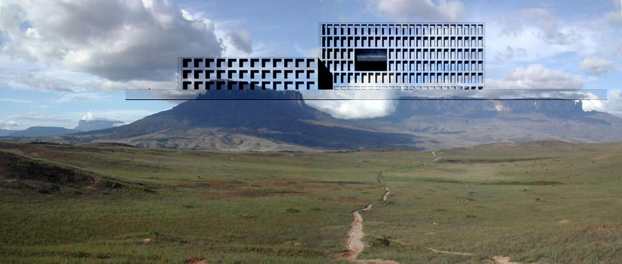 Imagen conceptual. Image Cortesia de adjkm + Montemayor Arquitectos + VEPICA