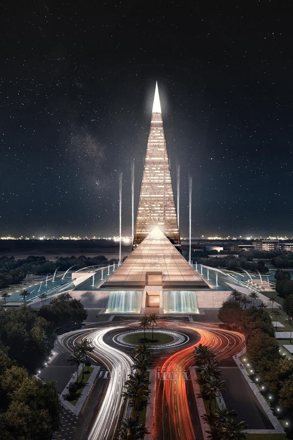 Egypt Plans to Build a 200-Meter-Tall Pyramid Skyscraper ...