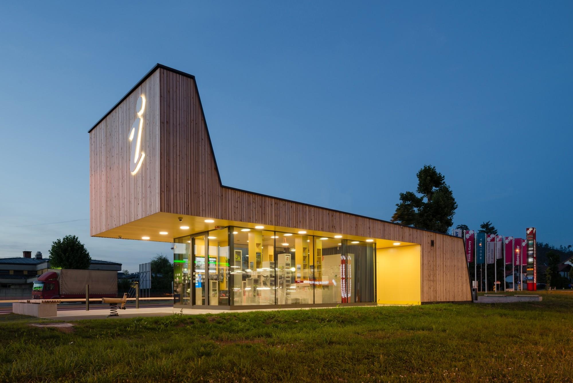 Centro de información turística Postojna / studio stratum, © Virginia Vrecl