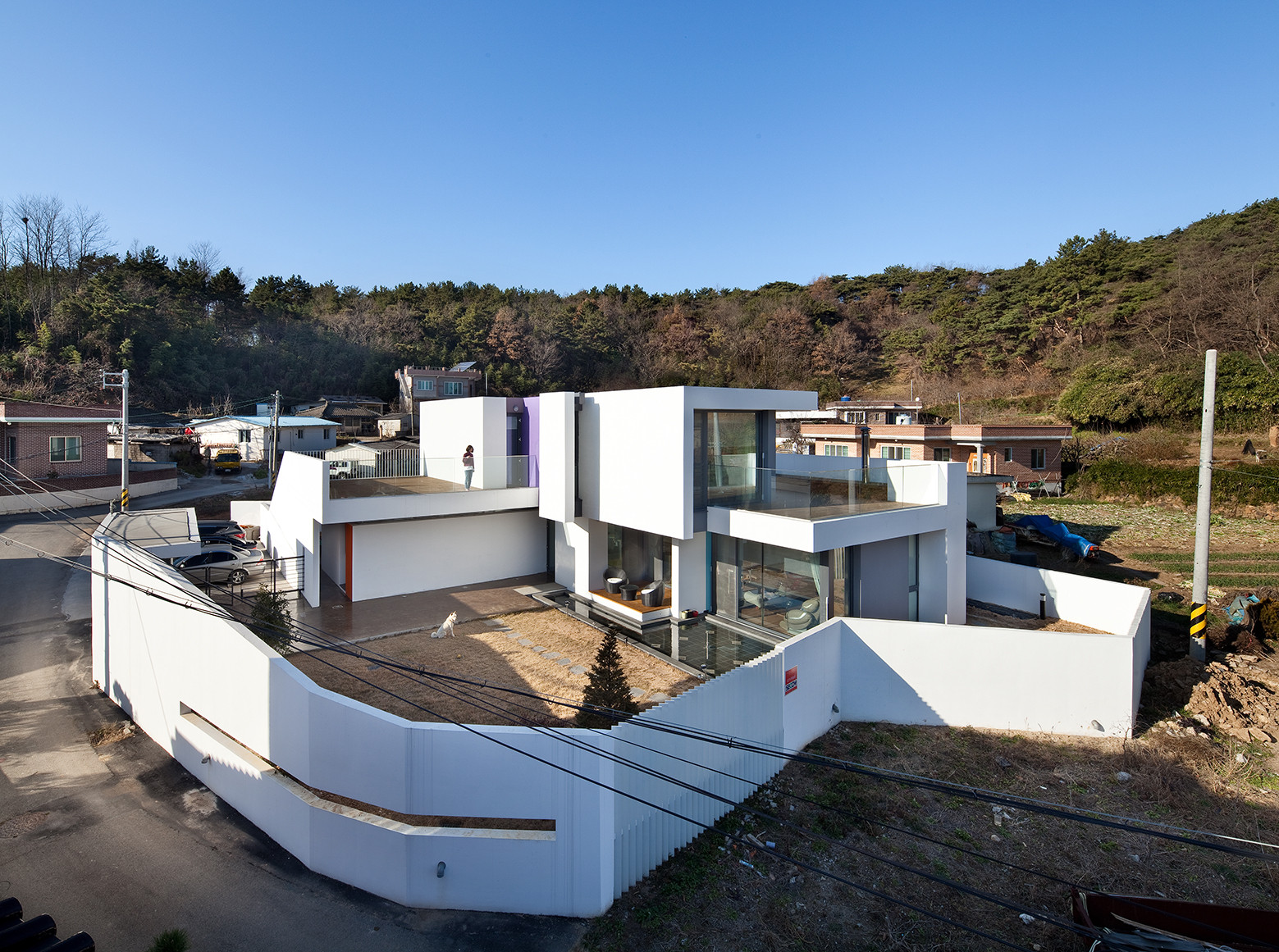 Gallery of woljam ri house jmy architects 8 for Modern korean house architecture