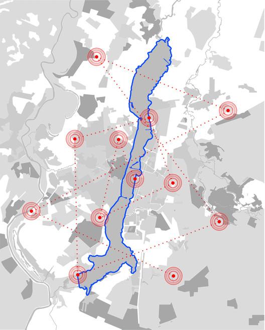 Acupuntura urbana. Image Cortesia de Ecosistema Urbano