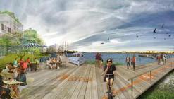 Ecosistema Urbano, primer lugar compartido en concurso de revitalización del mar de Voronezh / Rusia