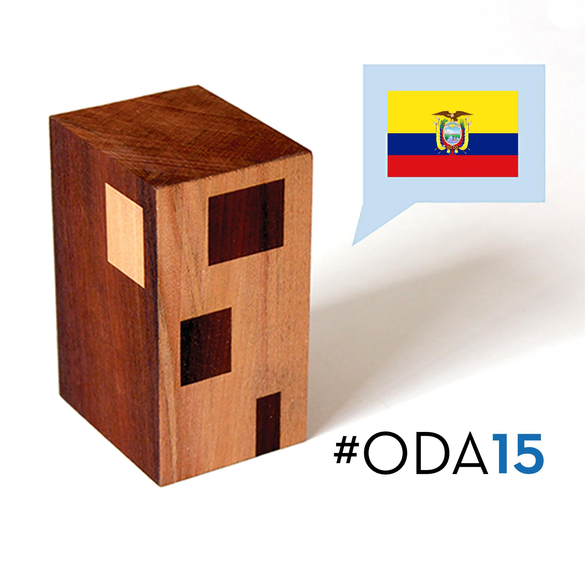 Conoce las 13 obras ecuatorianas que están participando en #ODA15