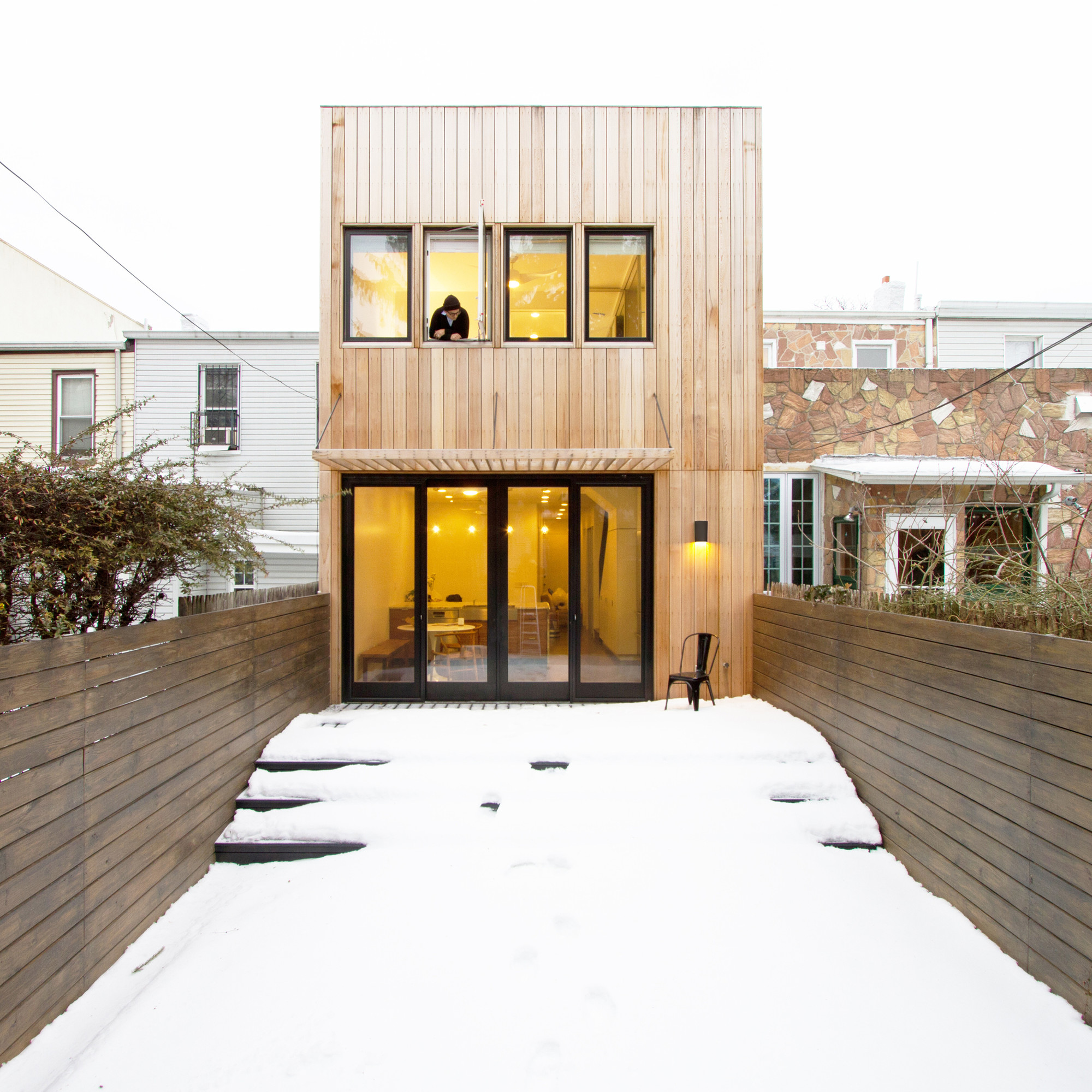 Brooklyn Row House / Office of Architecture, © Ben Anderson Photo