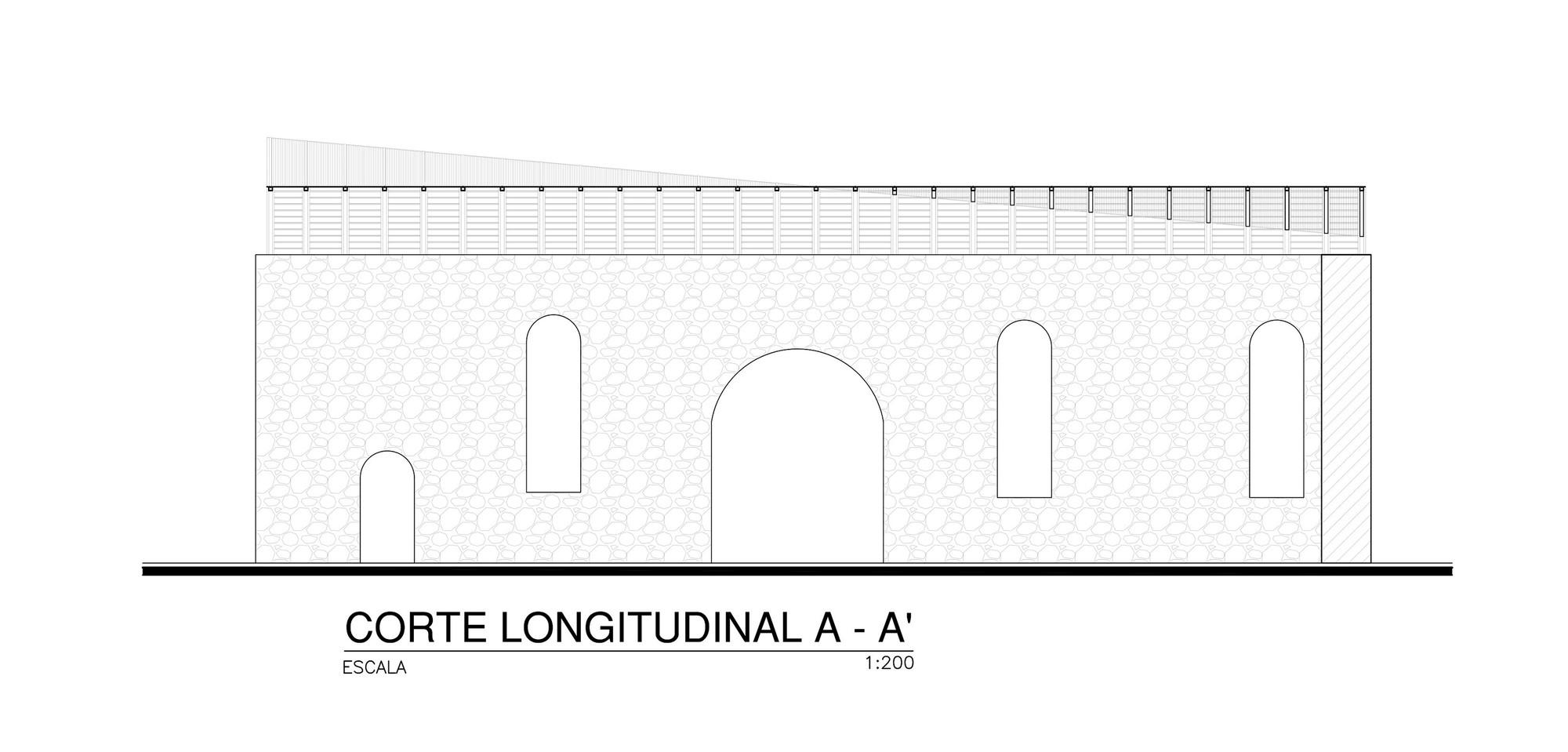 Corte Longitudinal AA
