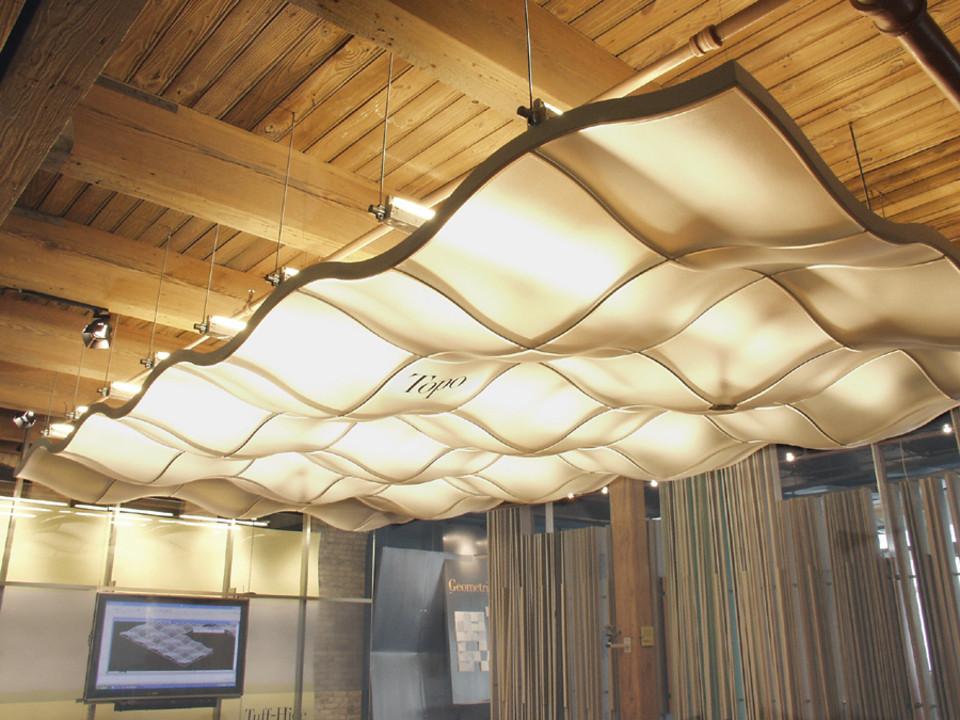 Materiales acabados para interiores en 3d archdaily m xico for Plafones de pared interior