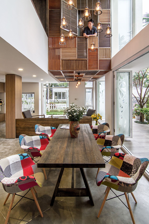 Galer a de casa epv ahl architects associates 13 for Interior design in vietnam