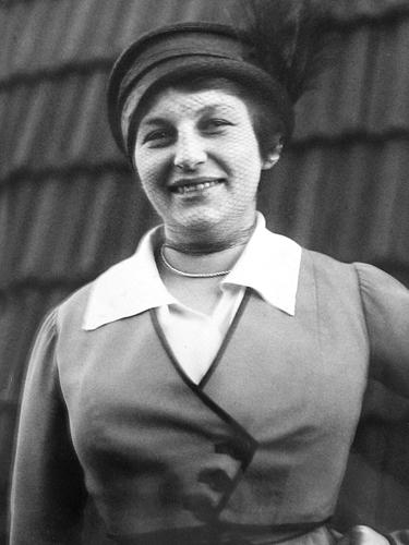 Lilly Reich. Imagen vía rauminhalt