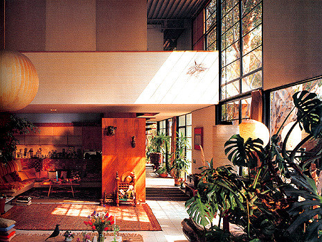 Interiores, Casa Eames. © architectenwerk.nl