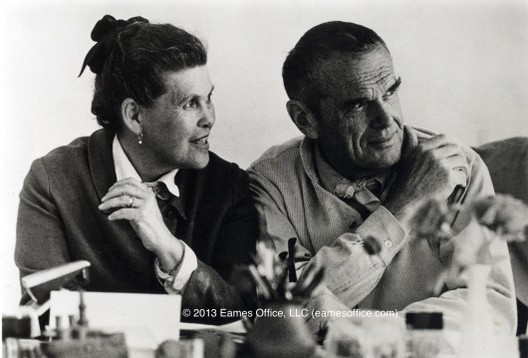 Ray y Charles Eames. © Eames Office