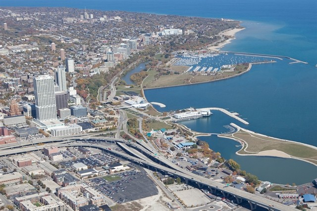James Corner Field Operations Amongst Frontrunners for Milwaukee's Lakefront Gateway Plaza, Courtesy of City of Milwaukee Department of City Development