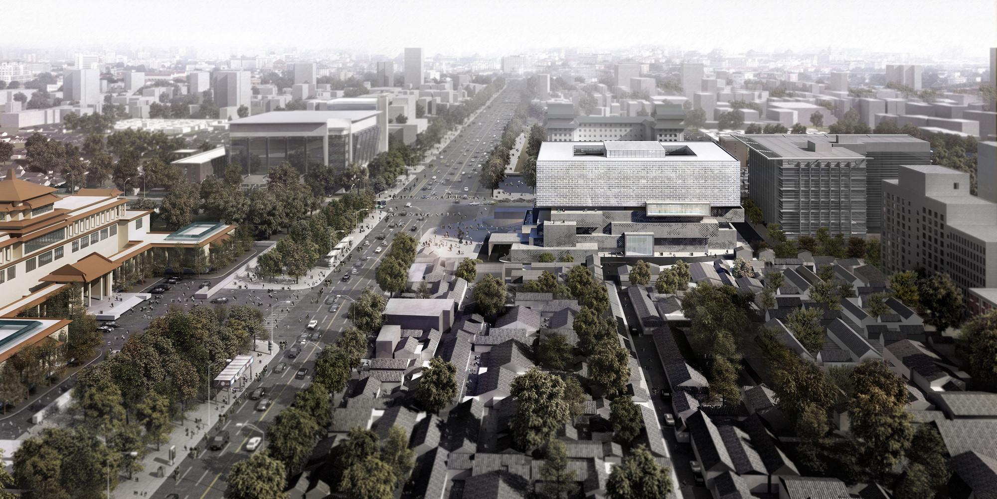 Guardian Art Center by Büro Ole Scheeren. Image Courtesy of Büro Ole Scheeren