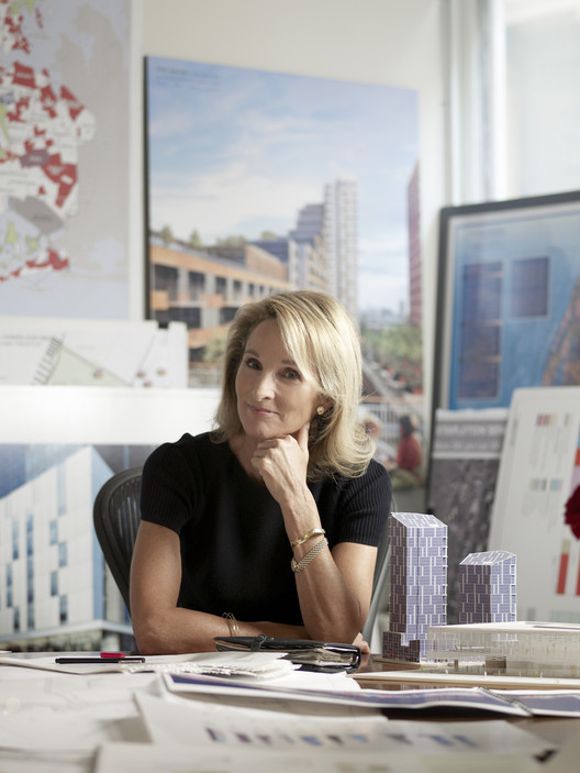 Amanda Burden. Imagen por Bloomberg Associates [CC Wikimedia Commons]