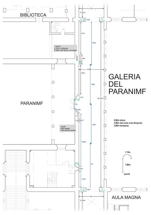 GALERIA DEL PARANIMF. Image Cortesia de Peniques productions